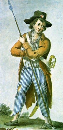 Un sans-culotte en 1792