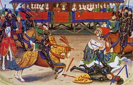 Top Coutumes et traditions : joutes et tournois au Moyen Age. Histoire  CY63