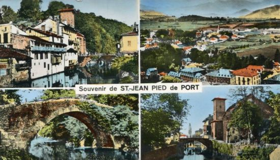 Saint jean pied de port sacr plus beau village de france - Saint jean pied de port saint jacques de compostelle distance ...