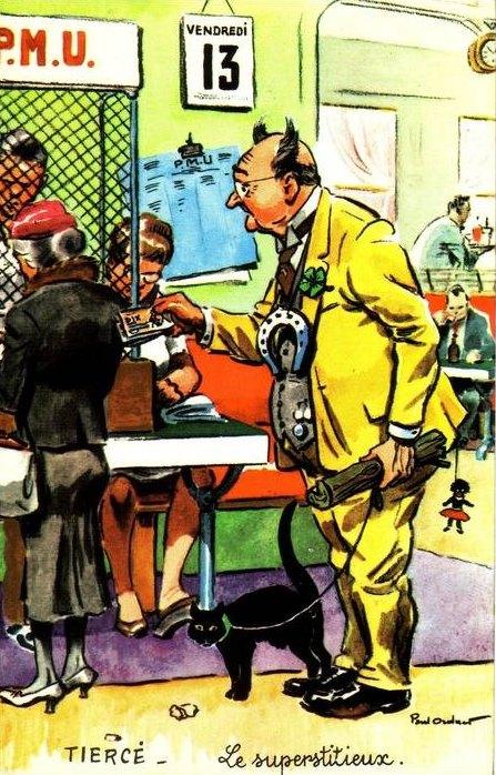 Superstitions li es au vendredi 13 histoire magazine et for Chiffre treize