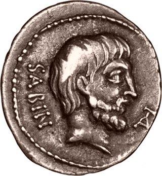 Tatius, roi des Sabins