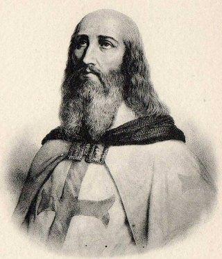 Jacques de Molay, dernier grand maître de l'Ordre du Temple