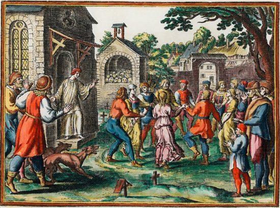 Danse De Saint Guy Manifestation D Hysterie Collective Au Moyen Age