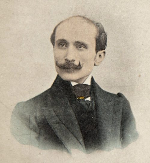 Edmond Rostand. Photographie de Paul Boyer (1861-1952)