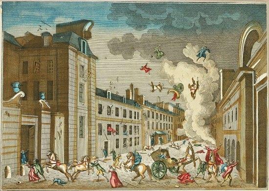 24 décembre 1800 : attentat de la rue Saint-Nicaise contre Bonaparte