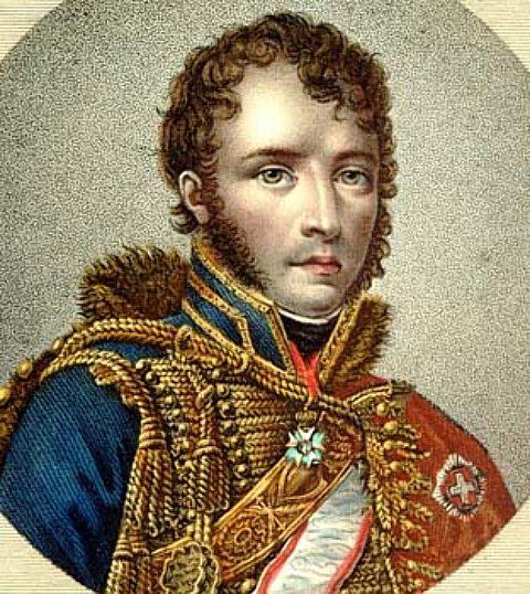 François-Antoine Lallemand, l'un des deux bonapartistes fondateurs de la colonie française