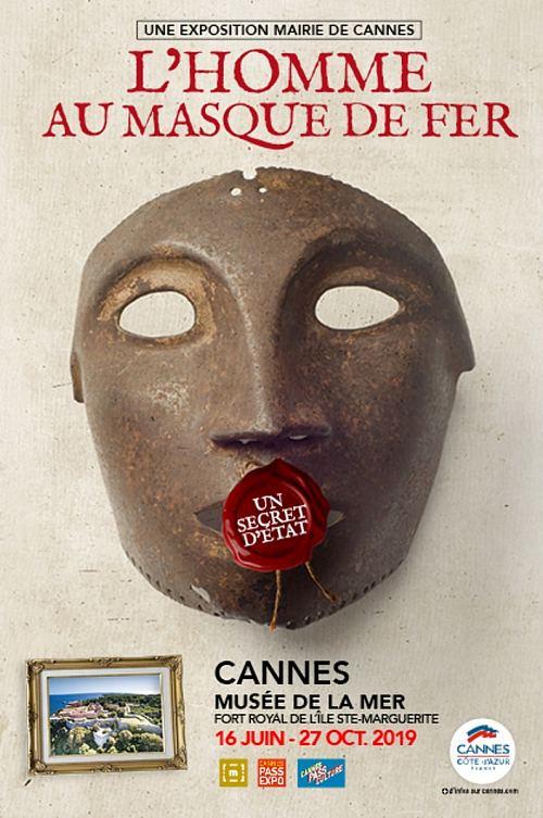 Affiche de l'exposition L'homme au masque de fer. Un secret d'État