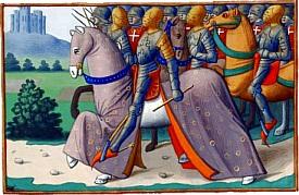 Louis XI et son armée, par Martial d'Auvergne